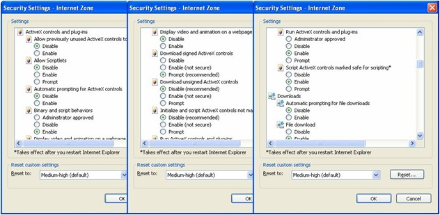 IE7 security